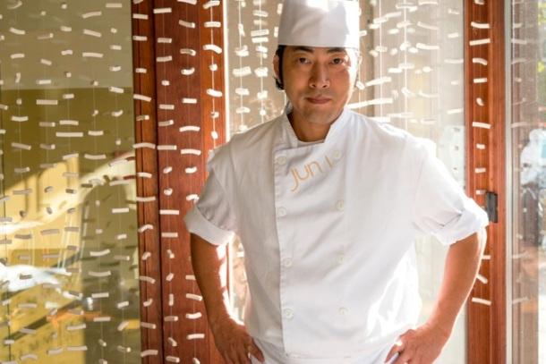 Le chef Junichi Ikematsu. Photo: Jun i.